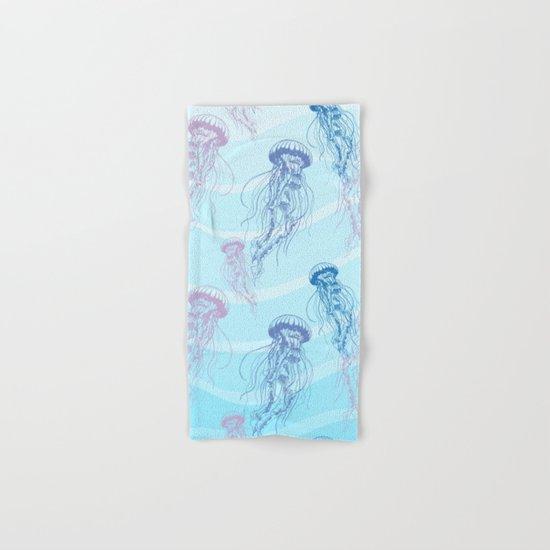 Marine Pattern 05 Hand & Bath Towel