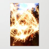 pentagram Canvas Prints featuring Pentagram by angesmithphotography