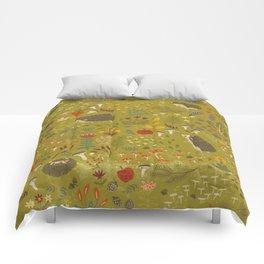 Hedgehog Meadow Comforters