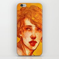 apollo iPhone & iPod Skins featuring apollo by chazstity