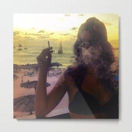 Caribbean Fog Metal Print