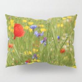 Happy Summerflowers Pillow Sham