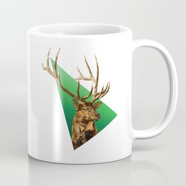 LOW POLY ELK Coffee Mug