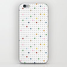 Pin Points Repeat iPhone & iPod Skin