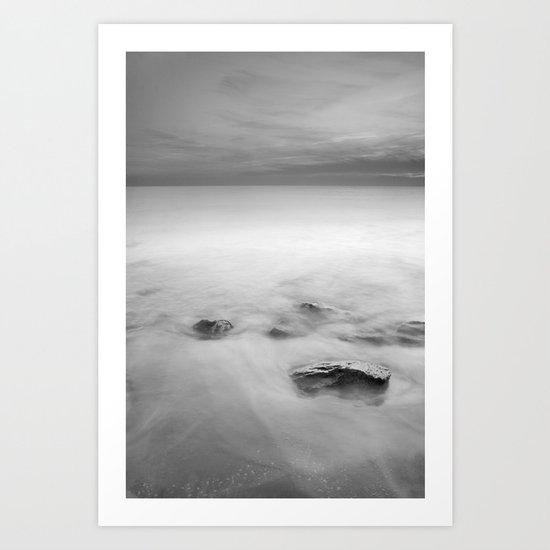 Calm. M Art Print