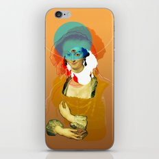 Peter Paul Rubens Pop Portrait iPhone & iPod Skin