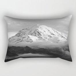 Marvelous Mount Rainier Rectangular Pillow