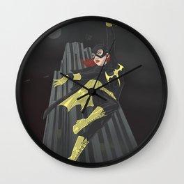A swinging batgirl Wall Clock
