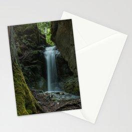 Beautiful Small Waterfall Stationery Cards