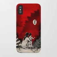 godzilla iPhone & iPod Cases featuring Godzilla.  by Sinpiggyhead