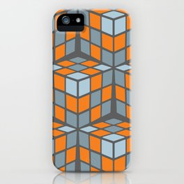 cascade - orange iPhone Case