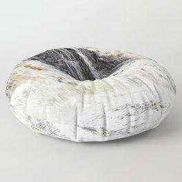 Gooseberry River Falls Floor Pillow