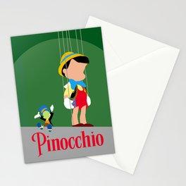 Pinocchio Stationery Cards