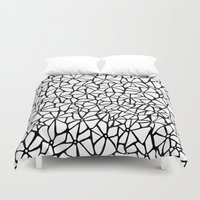 stone Duvet Covers featuring Stone by Aleishajune