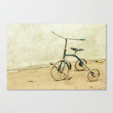 Old Rickety Tricycle Canvas Print