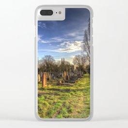 Kensal Green Cemetery London Clear iPhone Case