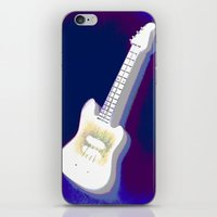 guitar iPhone & iPod Skins featuring Guitar by Vitta