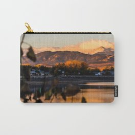 Crisp Rocky Mountain Morning Carry-All Pouch