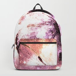 Celestial Butterfly Lavender Pink Peach Backpack