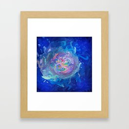 Abstract Mandala 299 Framed Art Print