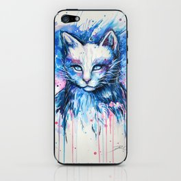 """Space cat"" iPhone Skin"