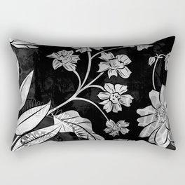 Porcelan Posies Rectangular Pillow