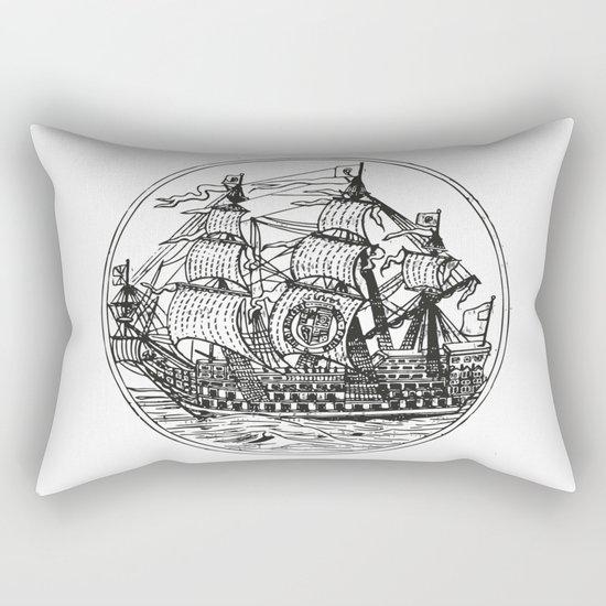 Galleon Rectangular Pillow