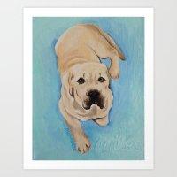 miles davis Art Prints featuring miles by Lynn Monroe