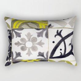 JD_tiled floor1–gouache Rectangular Pillow