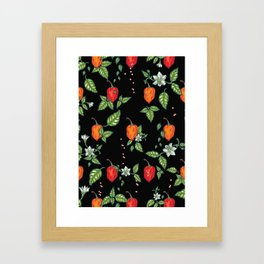 naughty habanero Framed Art Print