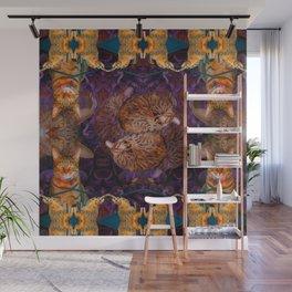 Theadora the Explorer Dreams of Flora Wall Mural