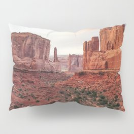 Fire Red Rock Formations in Utah Pillow Sham