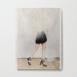 headless model No.02 Metal Print