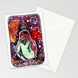 Monoposto fluttuante [floating seat] Stationery Cards