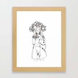 Thought Space Framed Art Print