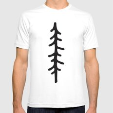 Simplicitree MEDIUM White Mens Fitted Tee