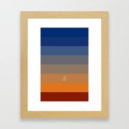 Dusk / Hajnal Framed Art Print