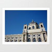vienna Art Prints featuring Vienna  by Senorita