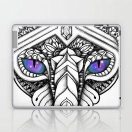 Ornate Hairless Cat Laptop & iPad Skin