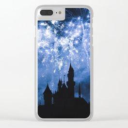 Sleeping Beauty Castle Clear iPhone Case