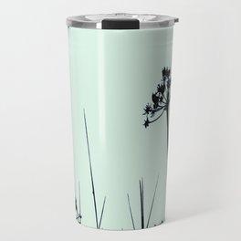 SEA PLANTS GREEN&BLACK Travel Mug
