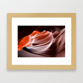 Canyon Abstract 2 Framed Art Print