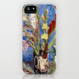 Gladioli iPhone Case