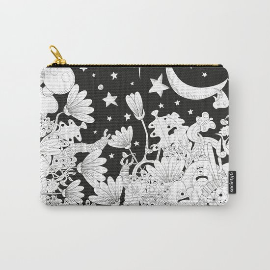 Cartoon Night Carry-All Pouch