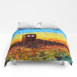 Tardis at the twilight zone iPhone 4 4s 5 5c 6, pillow case, mugs and tshirt Comforters