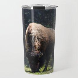 Majesty of the West (Bison) Travel Mug