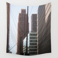 detroit Wall Tapestries featuring Detroit by Jake Boeve