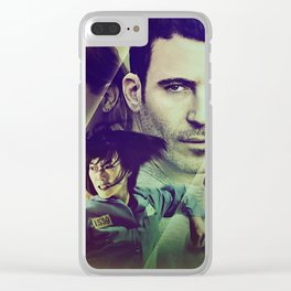 Sense8 Collage Poster Clear iPhone Case