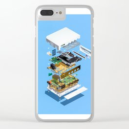 Assembly Required 2 Clear iPhone Case