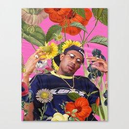 PLANT COLLAGE 2 Canvas Print